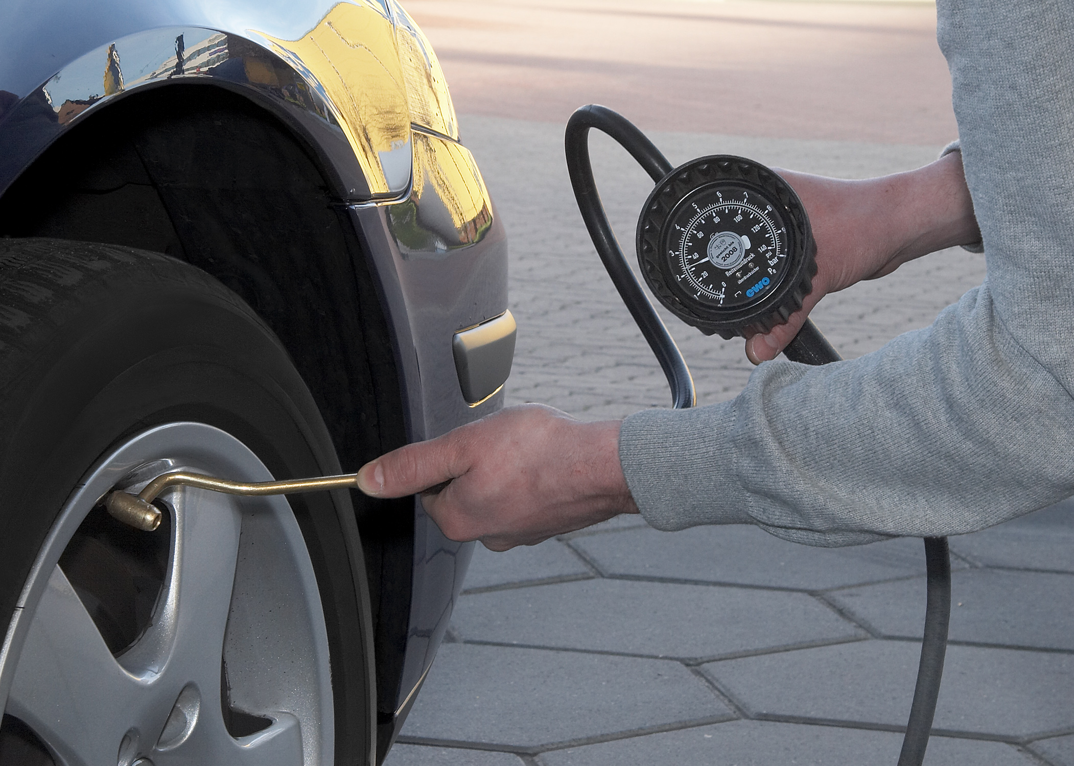 Check Your Tire Pressure Regularly