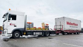 Dream Homes on the Road: ContiConnect Live Helps WeberHaus Houses to Arrive Safely and On Time