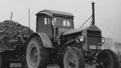 Tyre technologies through the ages: Continental looks back on its history in agricultural tyres