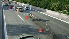 A Continental új radaros érzékelője a motorkerékpárok számára kínál vészfék asszisztens funkciót