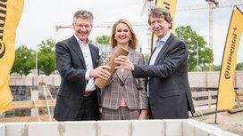 Foundation Stone Laid: Construction of the New Company Headquarters Making Progress