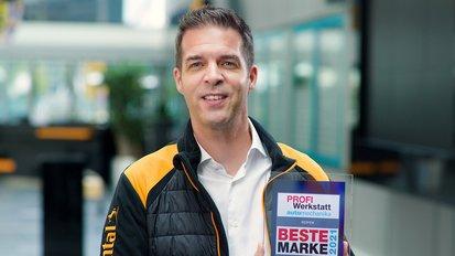 Zum dritten Mal in Folge: Continental wird zur besten PROFI Werkstatt-Marke gewählt