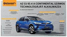 Volkswagen ID.4 - Fenntartható mobilitás a Continental technológiával