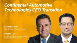 Robert H. Lee Appointed New CEO and President of Automotive Technologies Continental North America Following Samir Salman Retirement