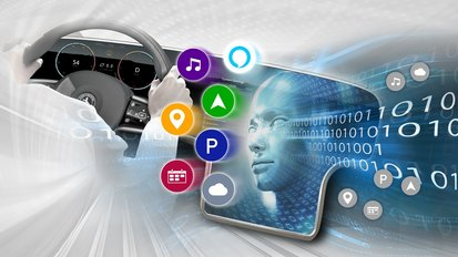 Smart Voice Assistant: Continental Develops Adaptive Voice-Activated Digital Companion for Use in Cars