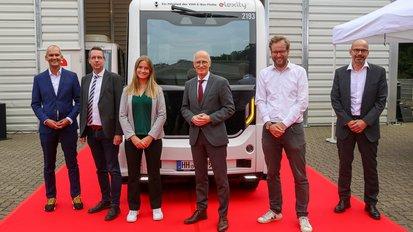 Autonomer On-Demand-Verkehr emoin in Bergedorf gestartet