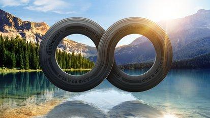 Continental ermöglicht ab 2022 Einsatz von recycelten PET-Flaschen in der Reifenproduktion