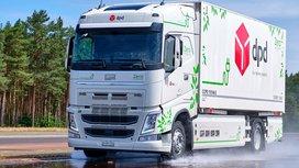 Continental testet Reifenprototypen für E-Lkw auf dem Contidrom