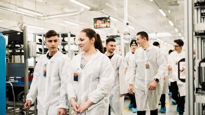 Continental Sibiu angajează primii absolvenți ai Școlii Profesionale în sistem dual