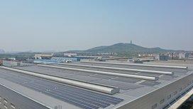 Grünes Kraftwerk: Continental startet photovoltaische Energiegewinnung in Zhangjiagang