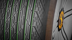 Sustainable. Lightweight. Efficient. World premiere of Continental's tire concept Conti GreenConcept at IAA