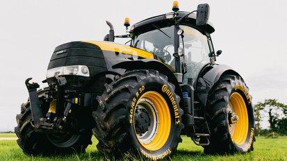 Partnerschaft mit Case IH: Continental VF TractorMaster & TractorMaster erhalten OE-Freigabe