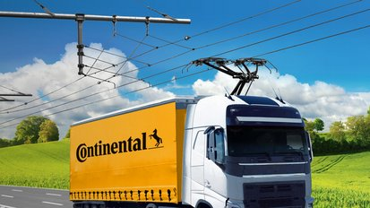 New Partnership: Continental and Siemens Mobility to Supply Trucks Across Europe with Electricity from Overhead Lines