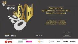 """Négy díjjal és három kategória győzelemmel az """"Év Gyára"""" 2020-ban a Continental budapesti gyára"""
