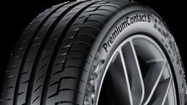 Porsche Taycan rollt auf Reifen von Continental